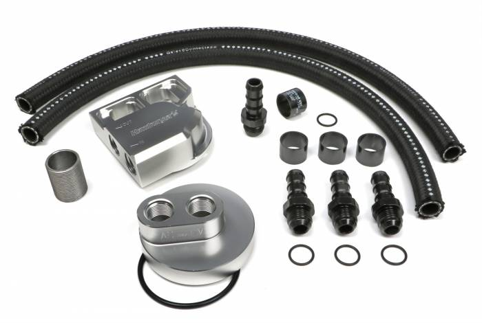 Trans-Dapt Performance Products - Trans-Dapt Performance Products Single Oil Filter Relocation Kit 3359