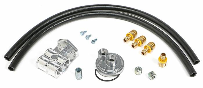 Trans-Dapt Performance Products - Trans-Dapt Performance Products Single Oil Filter Relocation Kit 1520