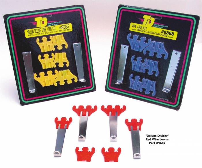 Trans-Dapt Performance Products - Trans-Dapt Performance Products Deluxe Wire Loom Set 9650