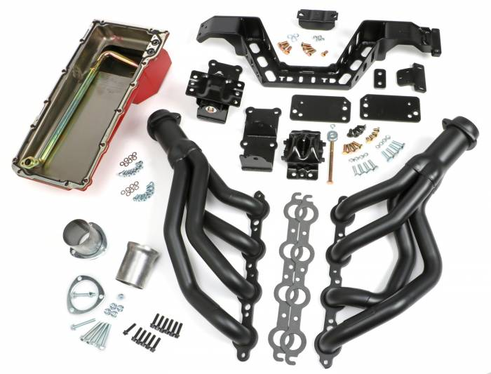 Trans-Dapt Performance Products - Trans-Dapt Performance Products LS Engine Swap Kit 42016