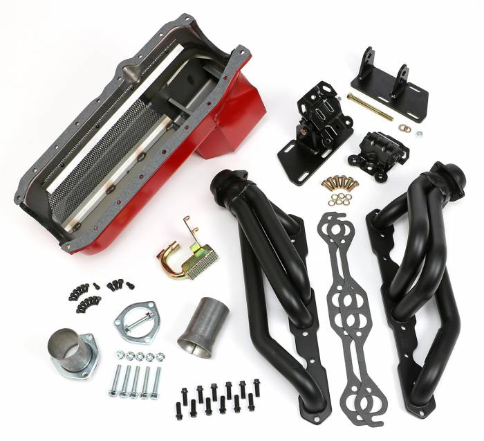 Trans-Dapt Performance Products - Trans-Dapt Performance Products S10/V8 Swap Kit 99078