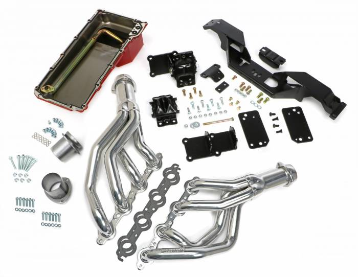 Trans-Dapt Performance Products - Trans-Dapt Performance Products LS Engine Swap Kit 42012
