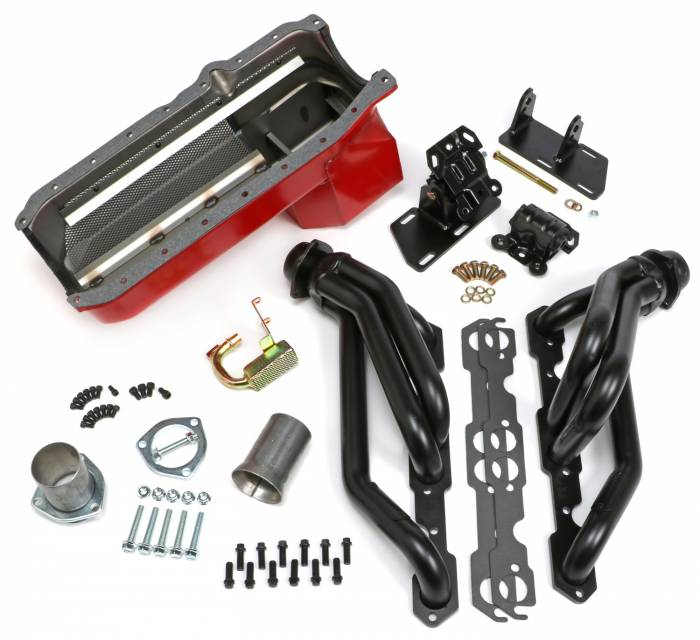 Trans-Dapt Performance Products - Trans-Dapt Performance Products S10/V8 Swap Kit 99072
