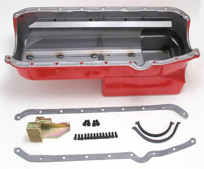 Trans-Dapt Performance Products - Trans-Dapt Performance Products Hamburgers Econo Series Oil Pan 1088