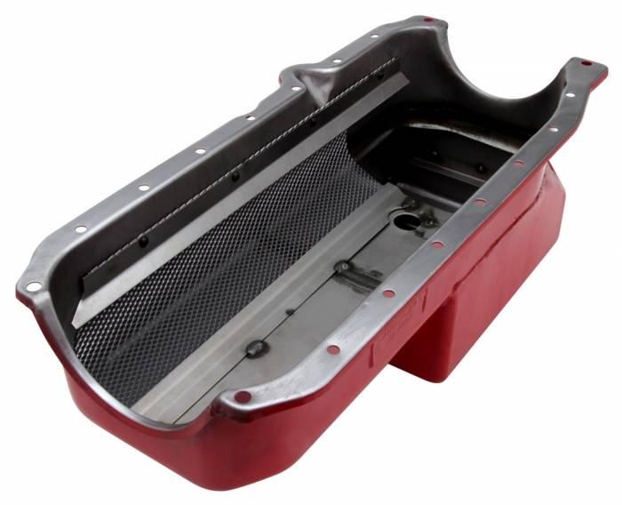 Trans-Dapt Performance Products - Trans-Dapt Performance Products Hamburgers Econo Series Oil Pan 1038