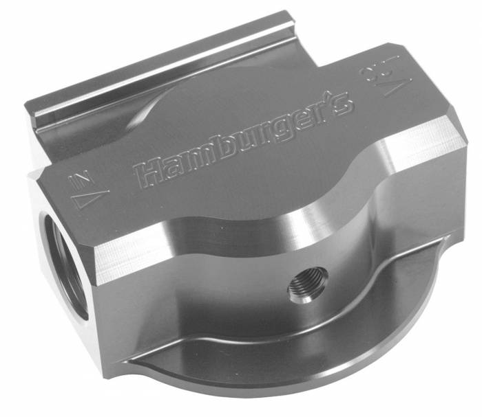 Trans-Dapt Performance Products - Trans-Dapt Performance Products Remote Oil Filter Base 3300