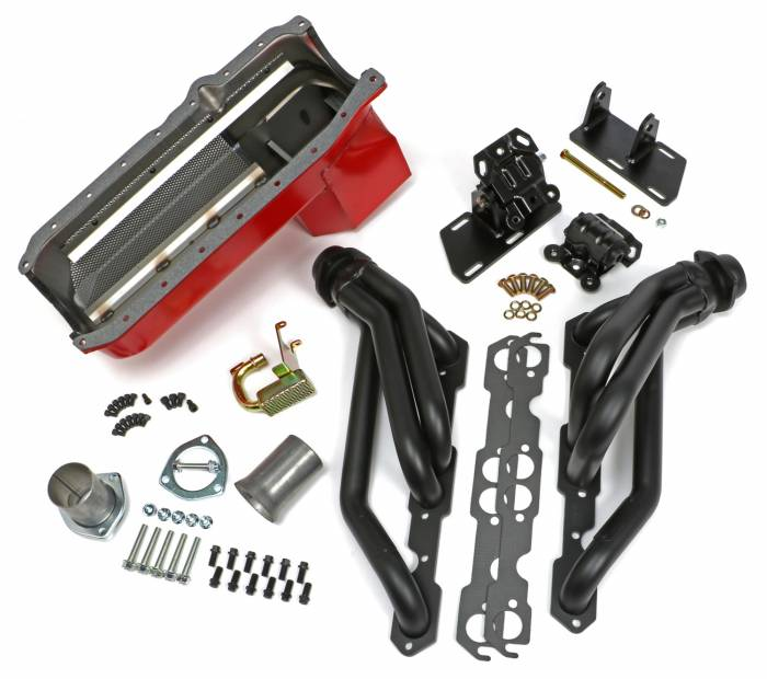Trans-Dapt Performance Products - Trans-Dapt Performance Products S10/V8 Swap Kit 99086