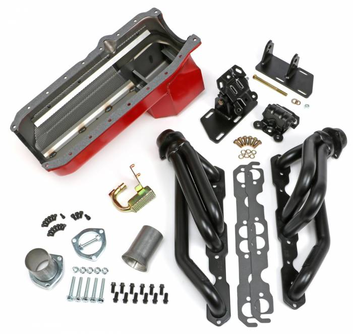 Trans-Dapt Performance Products - Trans-Dapt Performance Products S10/V8 Swap Kit 99071