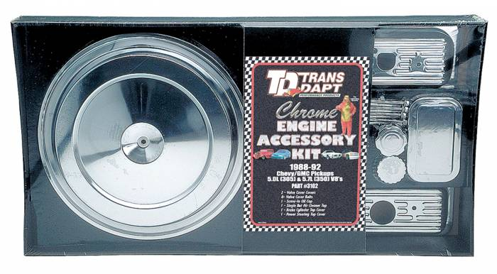 Trans-Dapt Performance Products - Trans-Dapt Performance Products Engine Dress Up Kit 3102