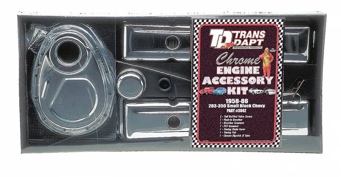 Trans-Dapt Performance Products - Trans-Dapt Performance Products Engine Dress Up Kit 3042