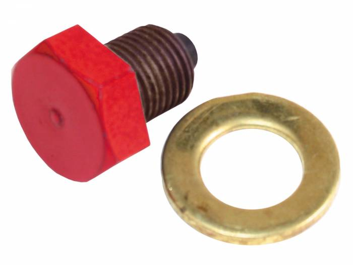 Trans-Dapt Performance Products - Trans-Dapt Performance Products Hamburgers Magnetic Oil Pan Drain Plug And Seal 1180