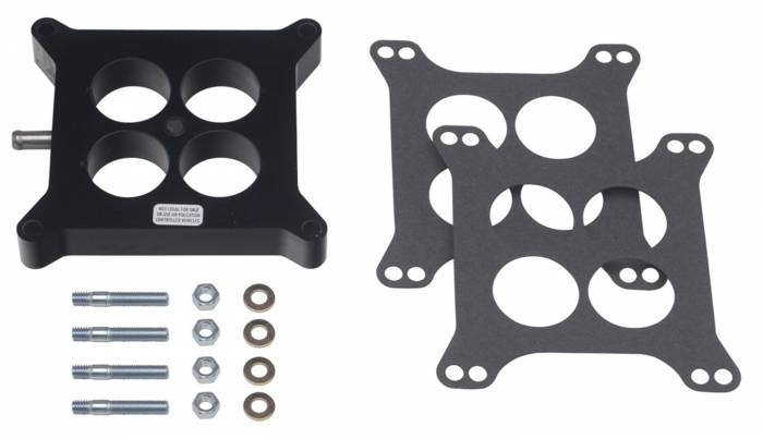 Trans-Dapt Performance Products - Trans-Dapt Performance Products Plastic Phenolic 4 Barrel Carb Spacer 2584