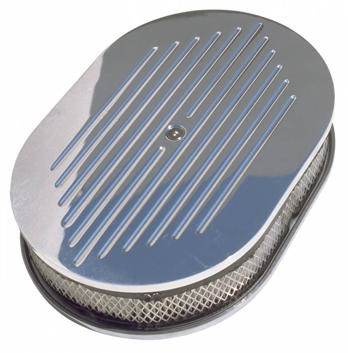Trans-Dapt Performance Products - Trans-Dapt Performance Products Aluminum Air Cleaner Oval 6021