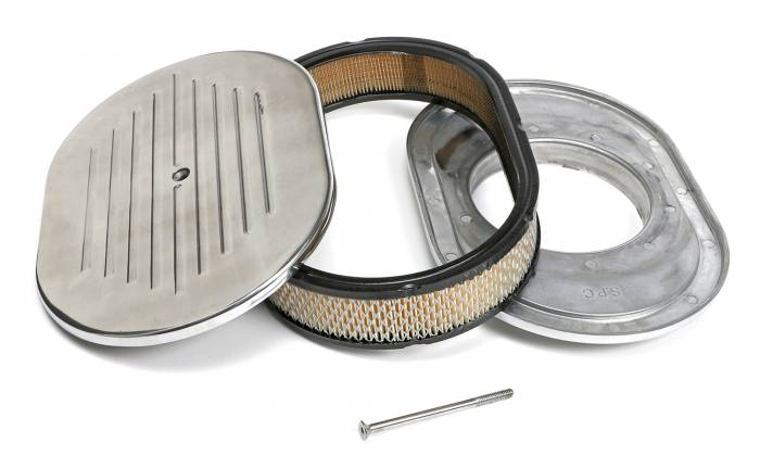 Trans-Dapt Performance Products - Trans-Dapt Performance Products Aluminum Air Cleaner Oval 6020
