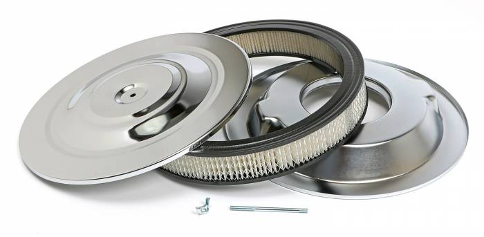 Trans-Dapt Performance Products - Trans-Dapt Performance Products Chrome Air Cleaner Performance Style 2147