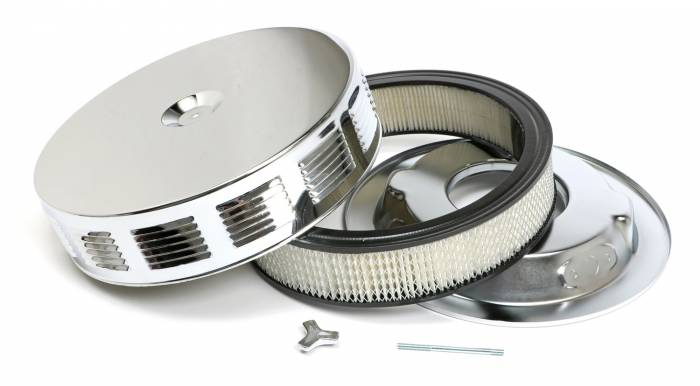 Trans-Dapt Performance Products - Trans-Dapt Performance Products Chrome Air Cleaner Vintage Corvette Style 2293