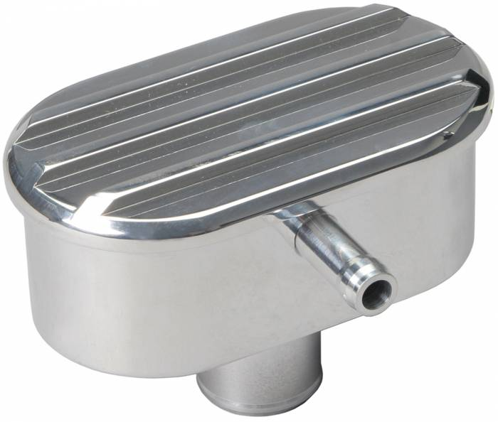 """Trans-Dapt Performance Products - TD6612 - Finned Style Push-In Valve Cover Breather w/PCV; for 1-1/4"""" Hole, Aluminum"""