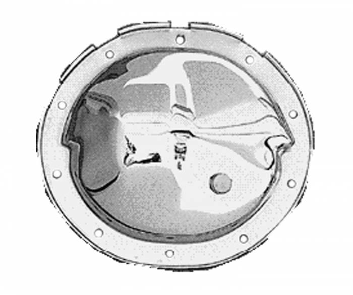 Trans-Dapt Performance Products - Trans-Dapt Performance Products Chrome Complete Differential Cover Kit 9037