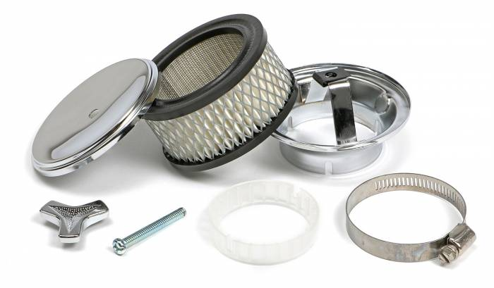 Trans-Dapt Performance Products - Trans-Dapt Performance Products Chrome Air Cleaner Deep Dish Style 2170