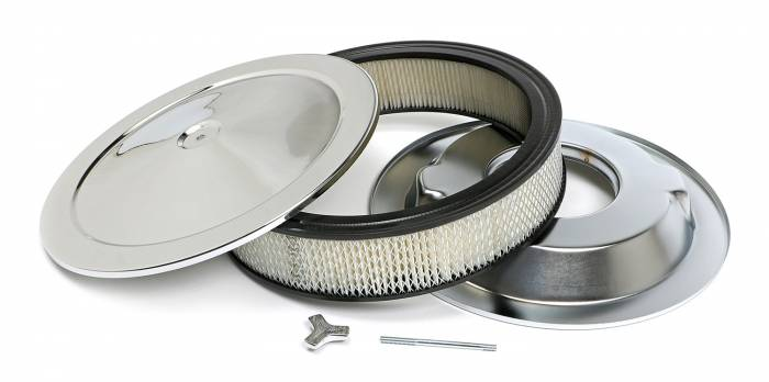 Trans-Dapt Performance Products - Trans-Dapt Performance Products Chrome Air Cleaner Muscle Car Style 2195