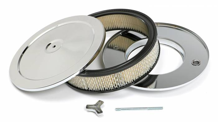 Trans-Dapt Performance Products - Trans-Dapt Performance Products Chrome Air Cleaner Muscle Car Style 2282