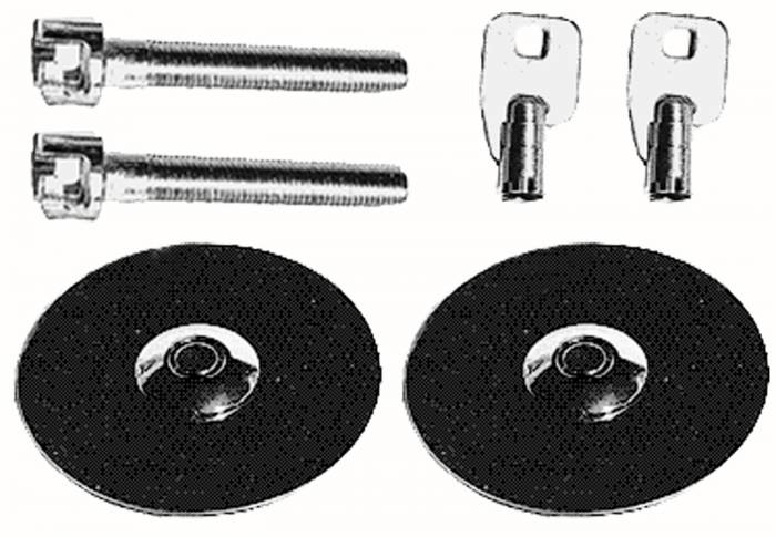 Trans-Dapt Performance Products - Trans-Dapt Performance Products Hood Lock Set 4062
