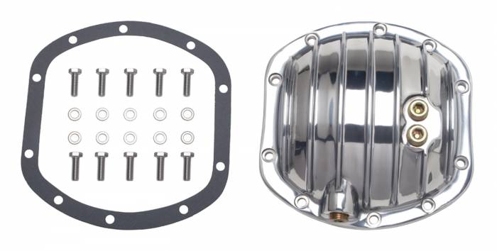 Trans-Dapt Performance Products - Trans-Dapt Performance Products Polished Aluminum Differential Cover Kit 4827