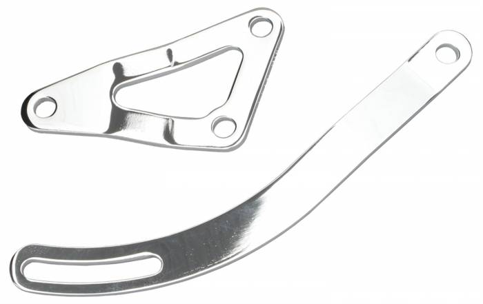 Trans-Dapt Performance Products - Trans-Dapt Performance Products Alternator Bracket Chrome 9456