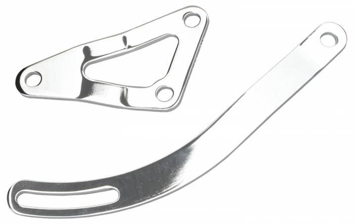 Trans-Dapt Performance Products - Trans-Dapt Performance Products Alternator Bracket Chrome 9456