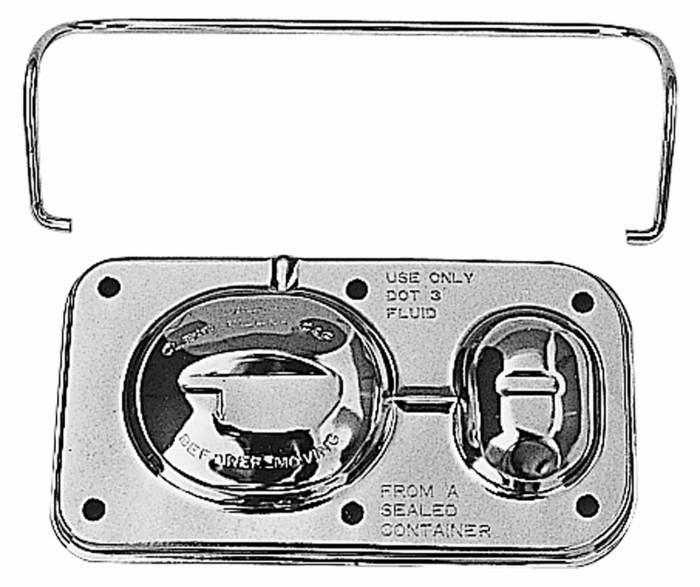 Trans-Dapt Performance Products - Trans-Dapt Performance Products Brake Master Cylinder Cover 9101