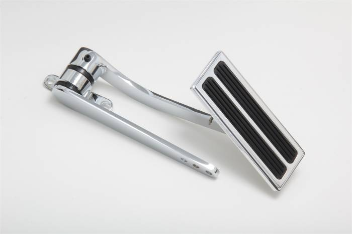 Trans-Dapt Performance Products - Trans-Dapt Performance Products Chrome Firewall Mount Gas Pedal 8958