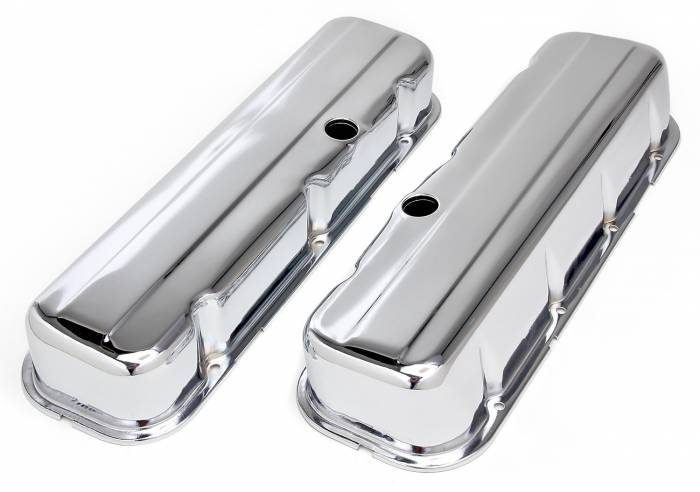 Trans-Dapt Performance Products - Trans-Dapt Performance Products Chrome Plated Steel Valve Cover 4965