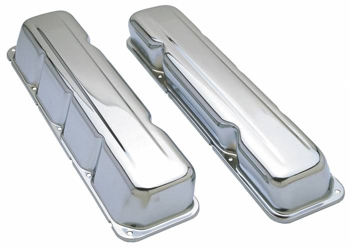 Trans-Dapt Performance Products - Trans-Dapt Performance Products Chrome Plated Steel Valve Cover 9174