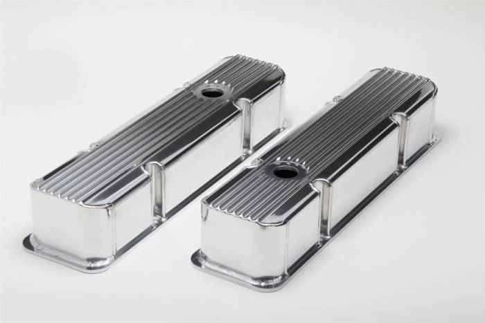 Trans-Dapt Performance Products - Trans-Dapt Performance Products Hamburgers Fabricated Valve Cover Set 1111