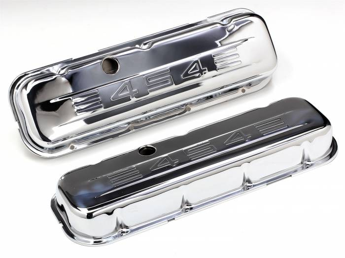 Trans-Dapt Performance Products - Trans-Dapt Performance Products Chrome Plated Steel Valve Cover 9844