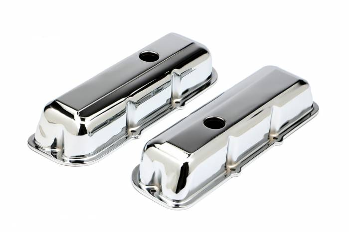 Trans-Dapt Performance Products - Trans-Dapt Performance Products Chrome Plated Steel Valve Cover 9390