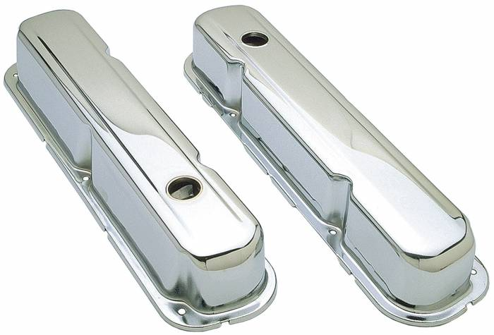 Trans-Dapt Performance Products - Trans-Dapt Performance Products Chrome Plated Steel Valve Cover 9298