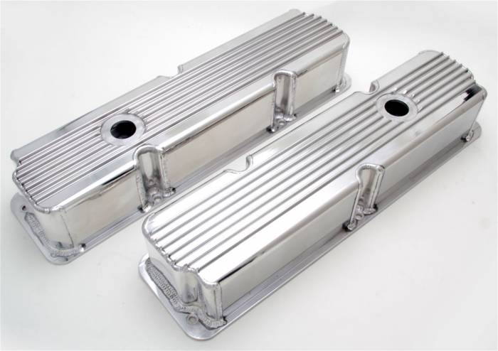 Trans-Dapt Performance Products - Trans-Dapt Performance Products Hamburgers Fabricated Valve Cover Set 1121