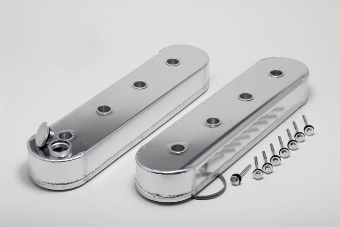 Trans-Dapt Performance Products - Trans-Dapt Performance Products Hamburgers Fabricated Valve Cover Set 1123