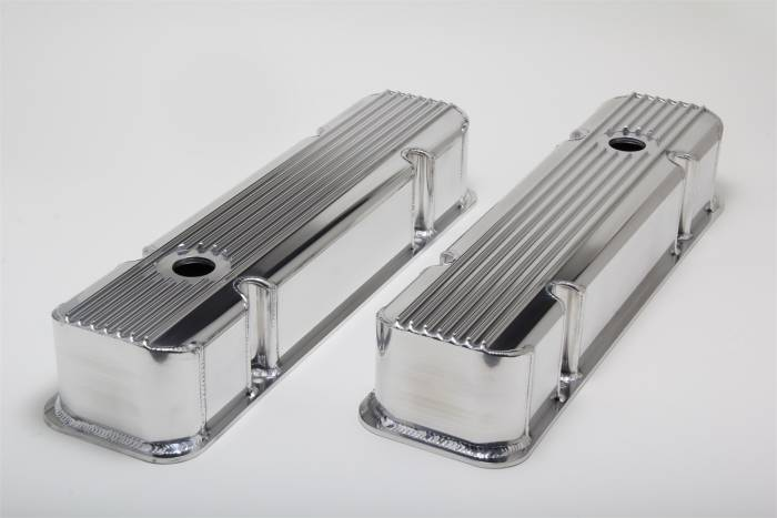 Trans-Dapt Performance Products - Trans-Dapt Performance Products Hamburgers Fabricated Valve Cover Set 1129