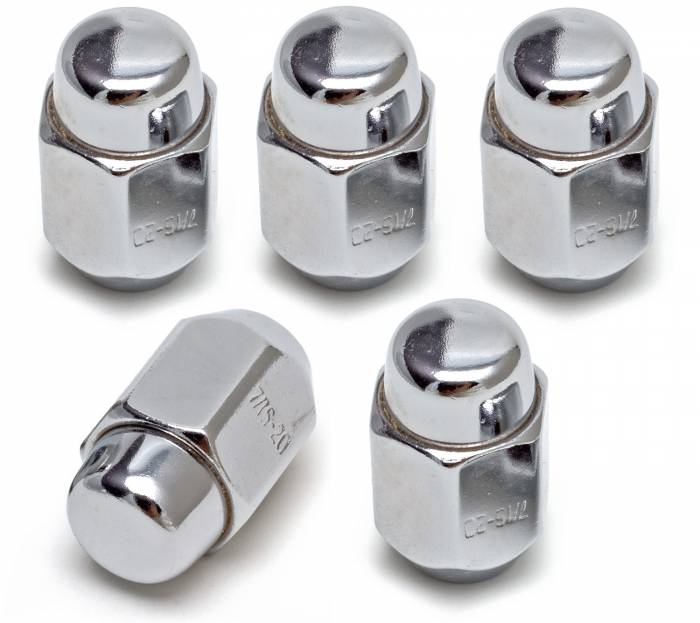 Trans-Dapt Performance Products - Trans-Dapt Performance Products Steel Wheel 60 Deg. Conical Chrome Acorn Lug Nuts 7000
