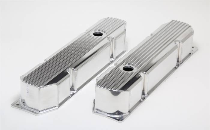 Trans-Dapt Performance Products - Trans-Dapt Performance Products Hamburgers Fabricated Valve Cover Set 1116