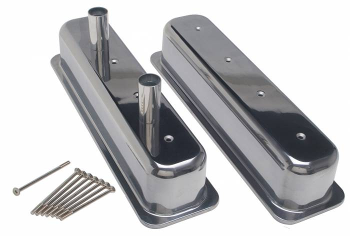Trans-Dapt Performance Products - Trans-Dapt Performance Products Hamburgers Fabricated Valve Cover Set 1069