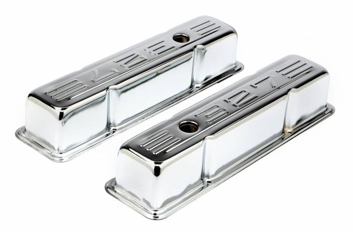 Trans-Dapt Performance Products - Trans-Dapt Performance Products Chrome Plated Steel Valve Cover 9853