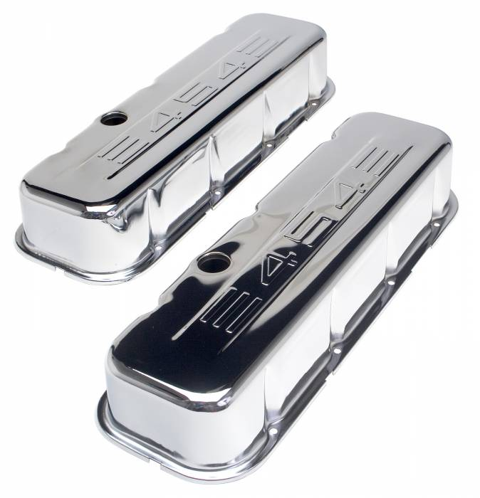 Trans-Dapt Performance Products - Trans-Dapt Performance Products Chrome Plated Steel Valve Cover 9843
