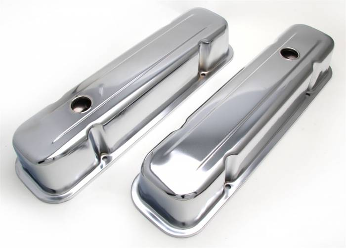 Trans-Dapt Performance Products - Trans-Dapt Performance Products Chrome Plated Steel Valve Cover 9300