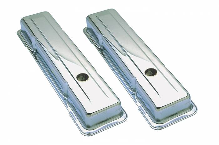 Trans-Dapt Performance Products - Trans-Dapt Performance Products Chrome Plated Steel Valve Cover 9216