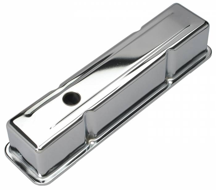 Trans-Dapt Performance Products - Trans-Dapt Performance Products Chrome Plated Steel Valve Cover 9215