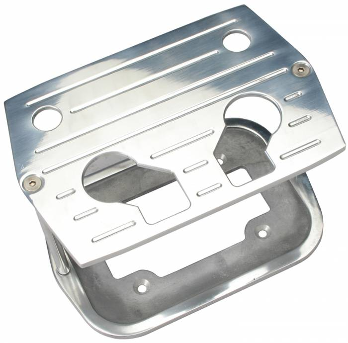 Trans-Dapt Performance Products - Trans-Dapt Performance Products Billet Optima Battery Tray 9324