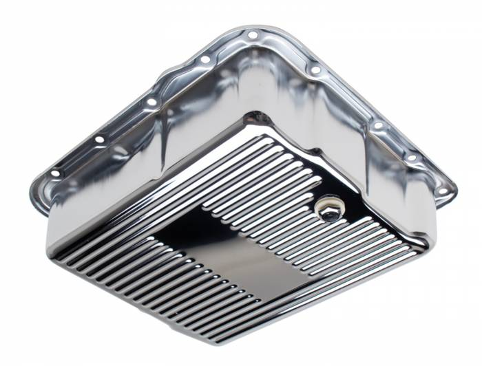 Trans-Dapt Performance Products - Trans-Dapt Performance Products Chrome Transmission Pan 9741